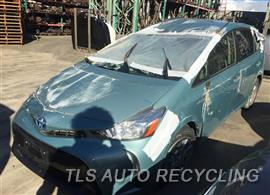 Parting Out Stock# 9075BR 2015 Toyota Prius V