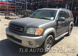 Parting Out Stock# 9389GY 2004 Toyota Sequoia