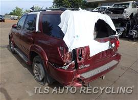 2006 Toyota Sequoia Parts Stock# 8304OR