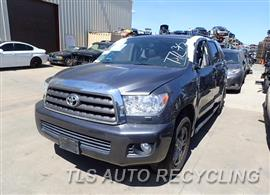 Parting Out Stock# 8219BL 2011 Toyota Sequoia
