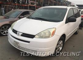Parting Out Stock# 8648PR 2004 Toyota Sienna
