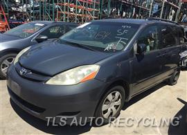 Parting Out Stock# 9350BK 2008 Toyota Sienna