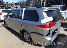 2011 Toyota Sienna Parts Stock# 8056RD