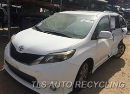 Parting Out Stock# 9533GY 2011 Toyota Sienna