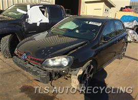 Parting Out Stock# 9018RD 2010 Volkswagen Golf