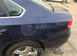 2013 Volkswagen PASSAT Parts Stock# 8669BL