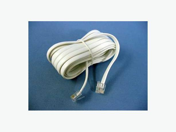 New 20FT 6p4c RJ11 Telephone wire cord