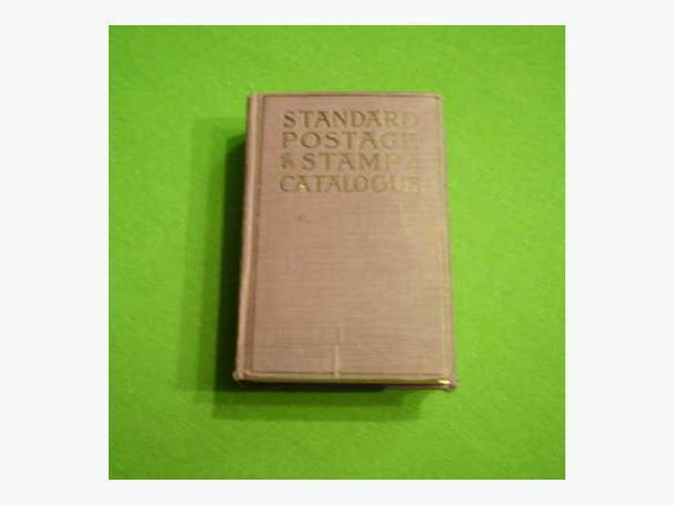 STANDARD POSTAGE STAMP CATALOGUE  pub.1919