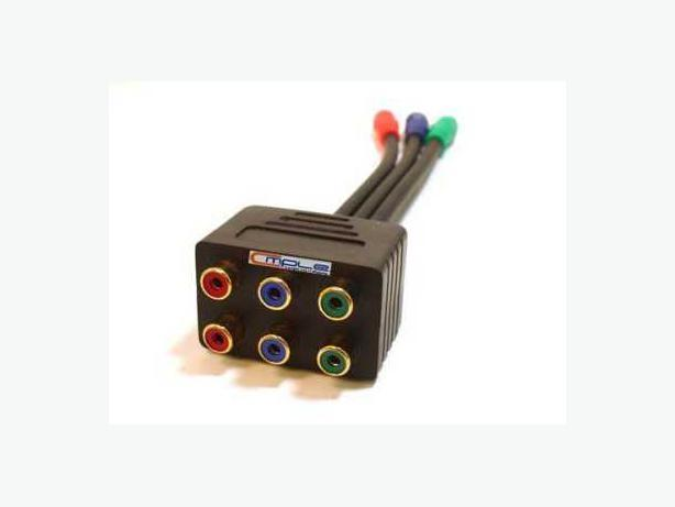 New  3 RCA Component Splitter
