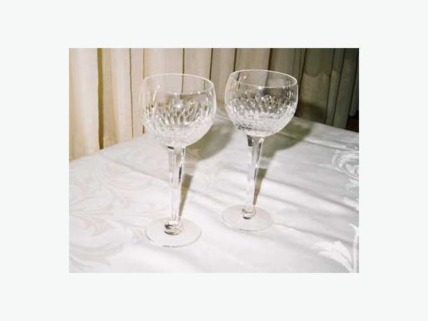 SET OF 2 ROYAL DOULTON WINE HOCK GLASSES