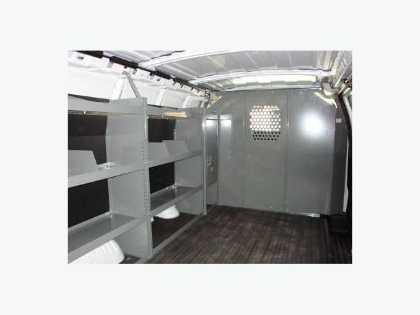 Van Interior, Ladder Racks, Equipment and Accessories