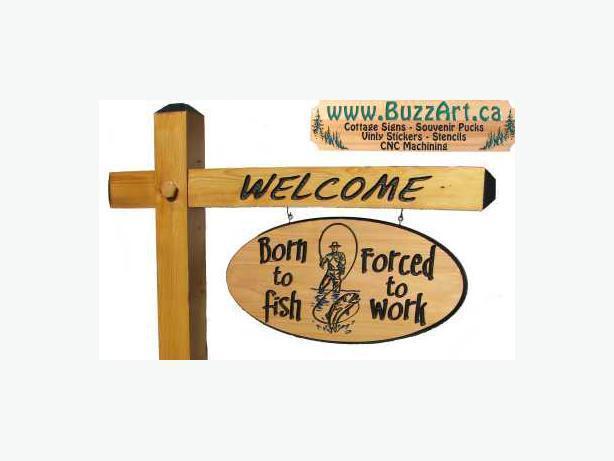 BuzzArt - Cottage Signs