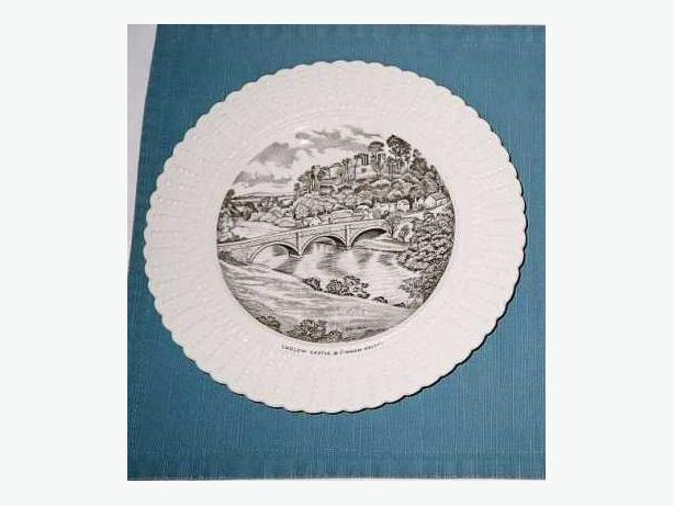 LUDLOW CASTLE & DINHAM BRIDGE PLATE