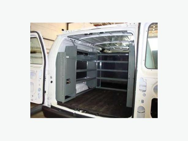 Van Interior Shelving, Safety Partition, Ladder Racks