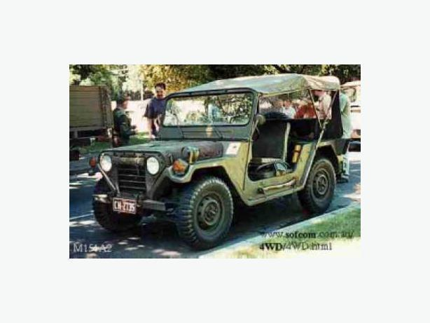 WANTED: 1974 Ford Ford m151a2