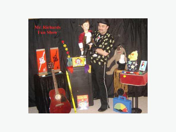 Magician for Hire -  Magic Shows: PARTIES, FAIRS, ANY EVENT