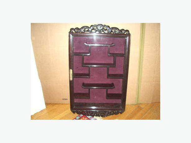Curio Cabinets (Price Firm)
