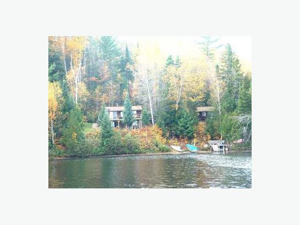 Otter Lake Cottages for rent (price incl. all 3 cabins for a week)