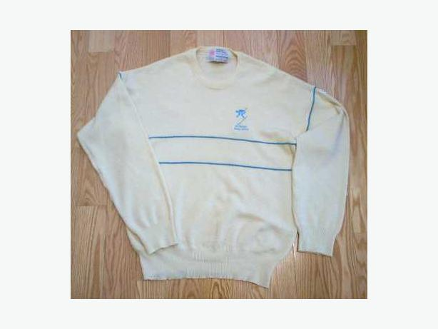 Wool Sweater from the 1988 Calgary Olympics