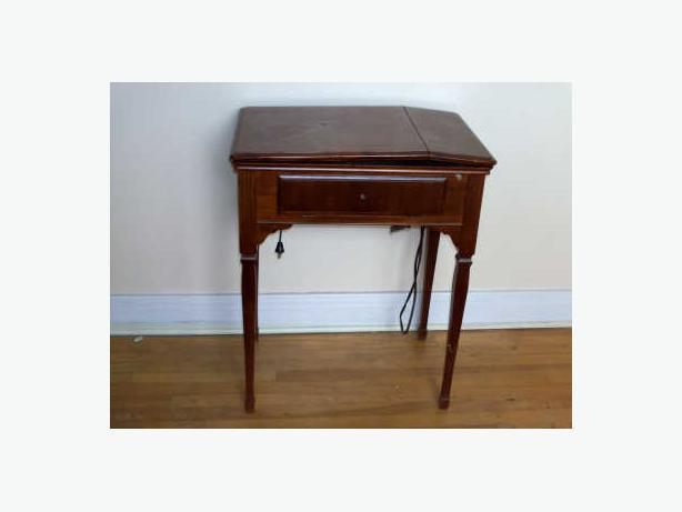 Sewing Machine and Worktable