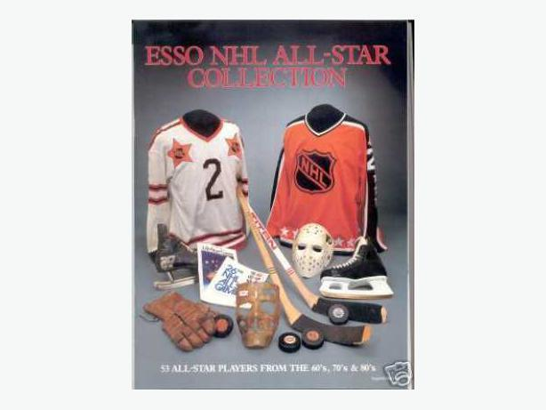 1988/89 Esso NHL Card Set With the Album