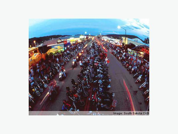 Canadians going to the Sturgis Bike Rally