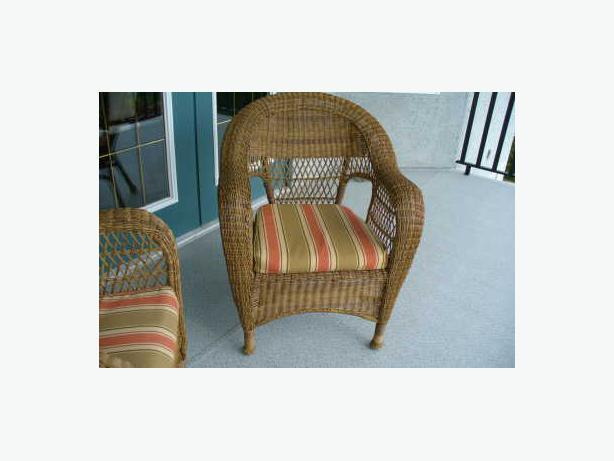 RESIN WICKER CHAIR WANTED
