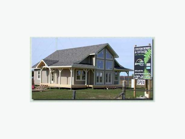 Custom homes cottages pre engineered packages custom Custom cottage homes
