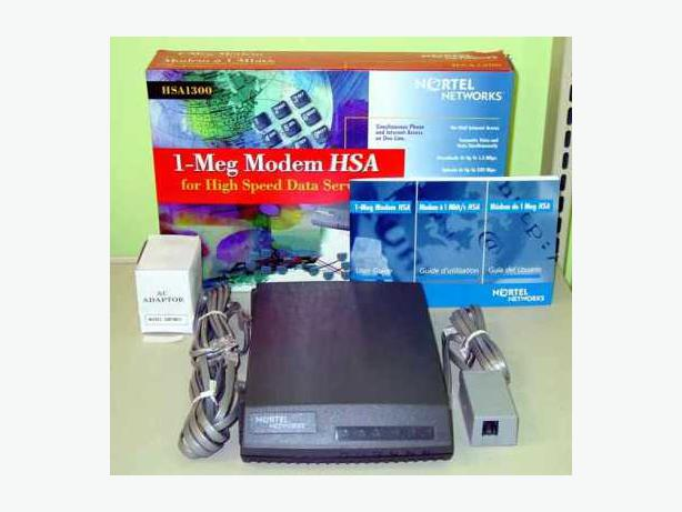 Brand New Nortel 1 Meg Modem HSA 1300 New Price