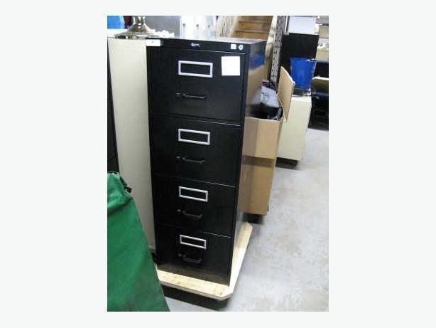 4 drawer verticals file cabinets.