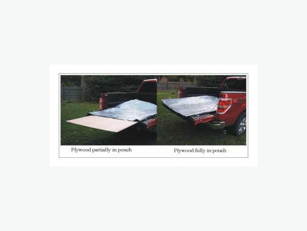 Keep your plywood or drywall dry in your pickup truck! free shipping