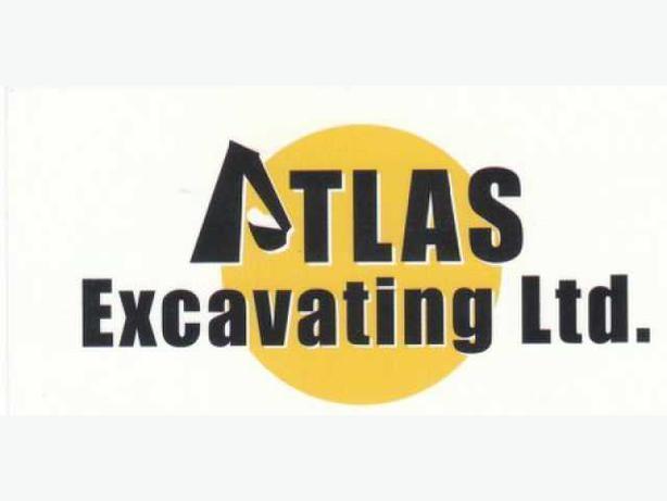 ATLAS  EXCAVATING  LTD. /// WE DO PERIMETER DRAINS ////