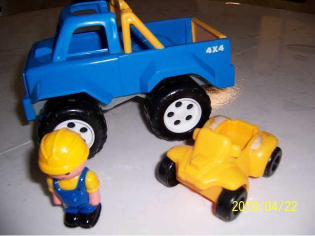 CASSELMAN - camion, bonhomme, 4 roues -