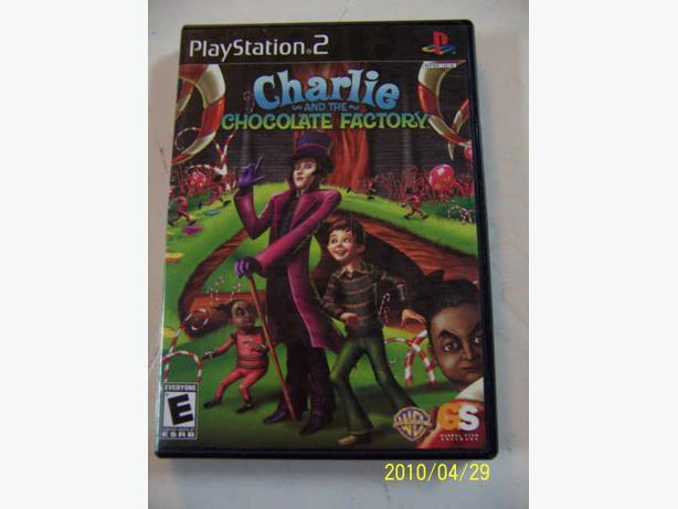 CASSELMAN - PS2 Charlie La Chocolaterie -