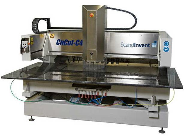 Scandinvent C4-CNC for Kitchens & Monuments. NOW WITH PHOTO & TEXT ENGRAVING