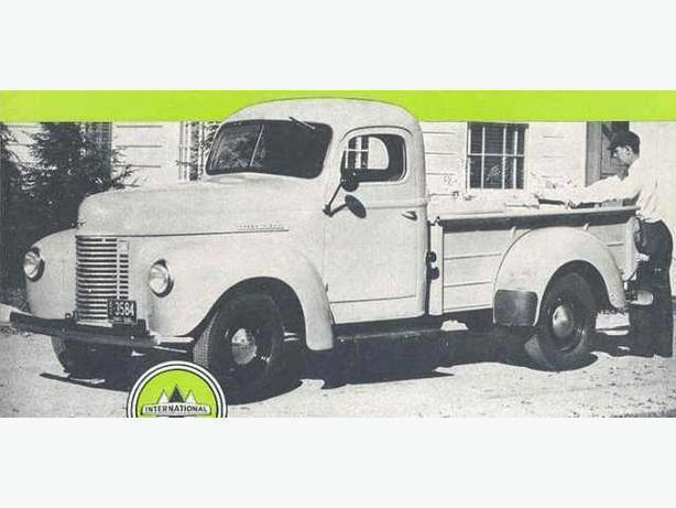 1941-49 International Pickup Parts Wanted