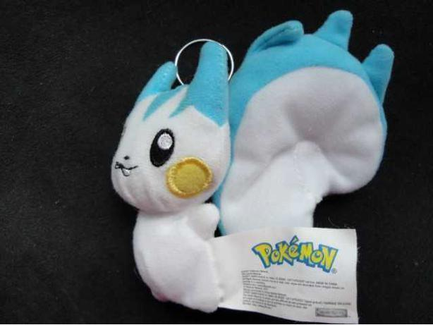 "NEW 4""POKEMON PACHIRISU  PLUSH DOLL  KEY CHAINS"
