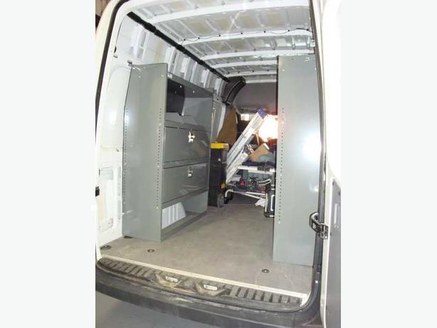 Dodge Sprinter Van Interior Shelving Storage