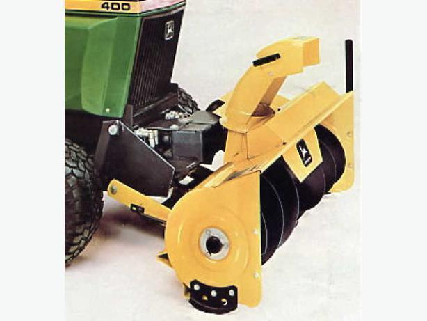 WANTED: John Deere model 50, 49, 47, 46, 44, 37A Snow Blowers