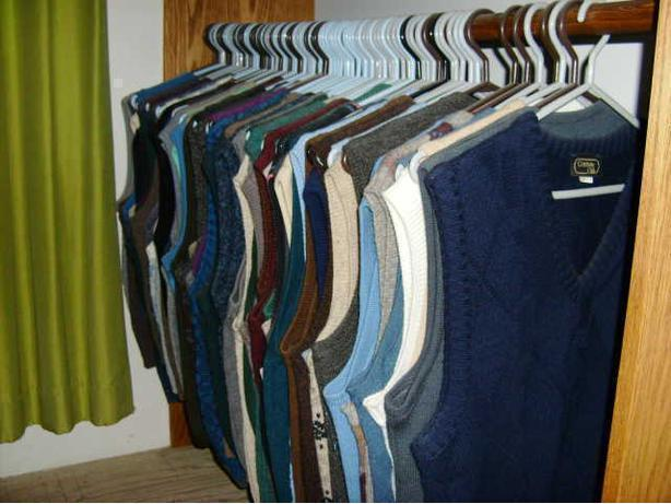 171 assorted sweater vests - REDUCED