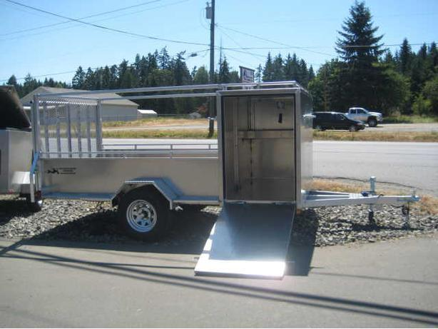 5' x 11' Aluminum Landscaping Utility Trailer - 2 YEAR WARRANTY!