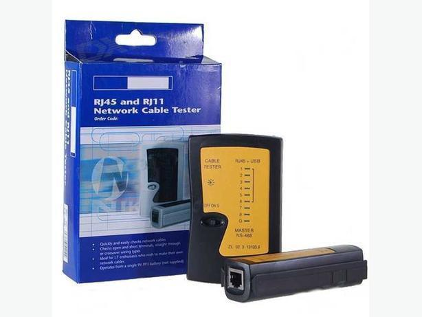 RJ45/RJ11 Network, Telephone Cable Tester.