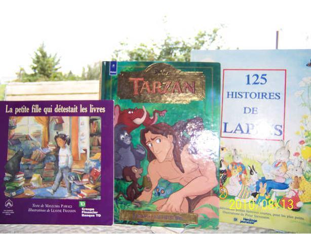3 livres d'enfants -  3 books for $10.00  -  CASSELMAN