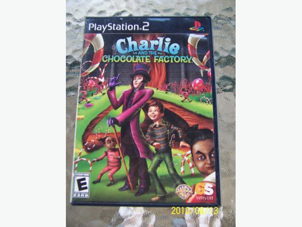 PlayStation 2 - Game Charlie & La Chocolaterie -  CASSELMAN
