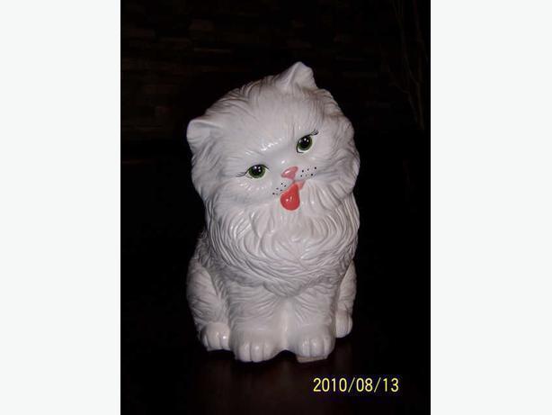 chat en céramique - CASSELMAN -