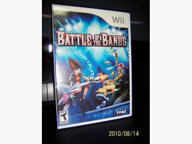 Wii game  - BATTLE OF THE BANDS  - CASSELMAN