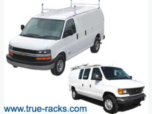 Ladder Racks for Vans, Minivans - Van Interior Shelving