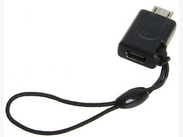 Mini USB Female to Micro USB Male Converter.