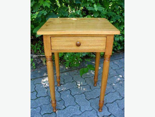 Antique Canadiana Lamp Tables or Night Stands