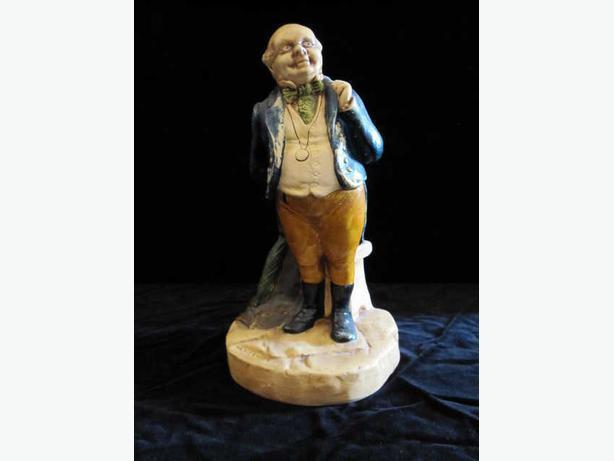 Bretby pottery ceramic figurine from Charles Dickens Novel.